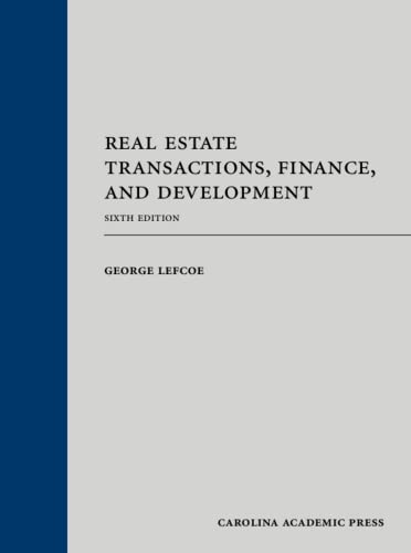 9781422470107: Real Estate Transactions, Finance, and Development