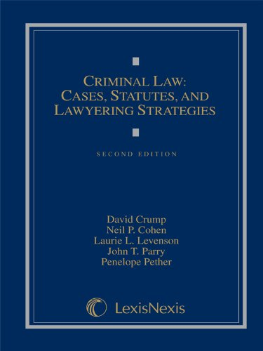 9781422470404: Criminal Law: Cases, Materials, and Lawyering Strategies