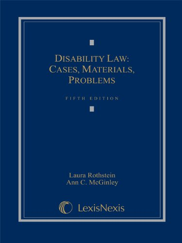 9781422476338: Disability Law: Cases, Materials, Problems