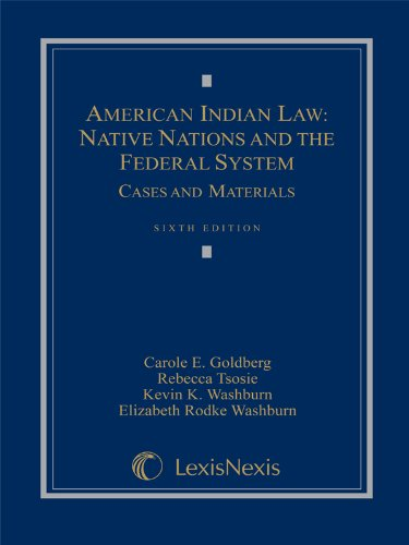9781422476475: American Indian Law: Native Nations and the Federal System