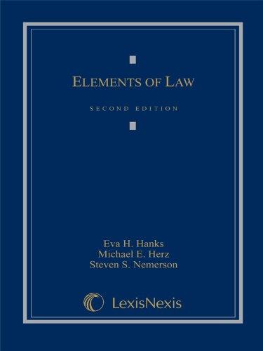 Elements of Law: Eva H. Hanks