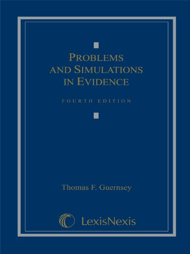 9781422478974: Problems and Simulations in Evidence