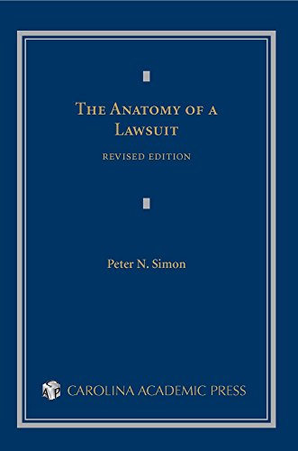 Download The Anatomy of a Lawsuit (Contemporary Legal Education Series)