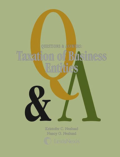9781422480342: Questions & Answers: Taxation of Business Entities