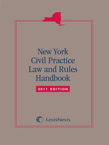9781422482377: New York Civil Practice Laws & Rules Handbook