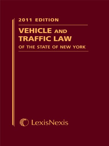 9781422485002: Vehicle and Traffic Law of the State of New York (Vehicle and Traffic Law of New York)