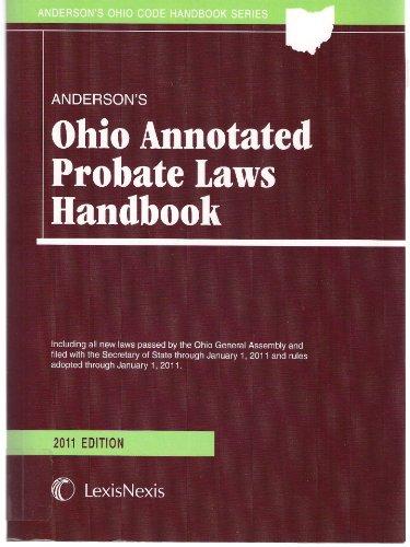 9781422487976: Anderson's Ohio Probate Law Handbook