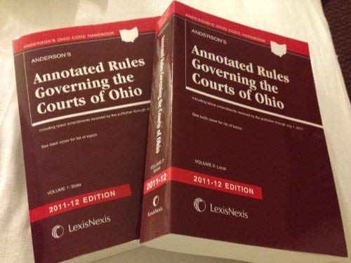 Anderson's Annotated Rules Governing the Courts of: The Publisher's Editorial