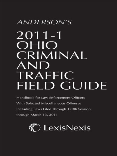 9781422489246: Anderson's OH Criminal & Traffic Field Guide