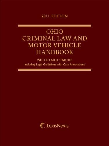 9781422489390: Ohio Criminal Law and Motor Vehicle Handbook