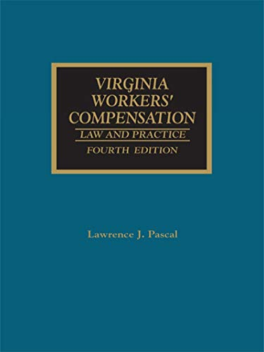 9781422490235: Virginia Workers' Compensation: Law and Practice