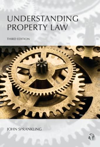 Understanding Property Law: John G. Sprankling