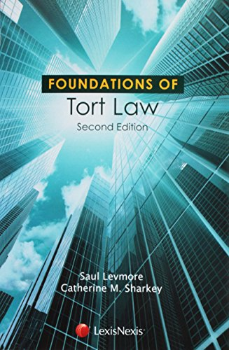 9781422498866: Foundations of Tort Law (Foundations of Law)