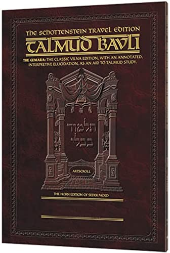 Schottenstein Travel Edition of the Talmud -: Weinberger, Rabbi Dovid