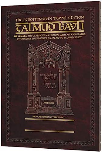 Schottenstein Travel Edition of the Talmud -: Shulman, Avi