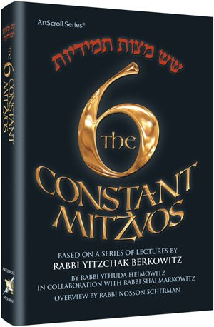 9781422610763: The Six Constant Mitzvos - Pocket Size Paperback