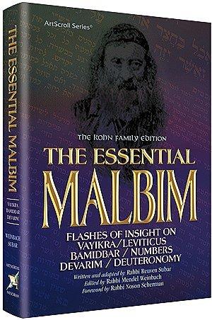 9781422613627: The Essential Malbim - Vayikra, Bamidbar and Devarim: Flashes of Insight on Vayikra,Bamidbar and Devarim The Kohn Family Edition