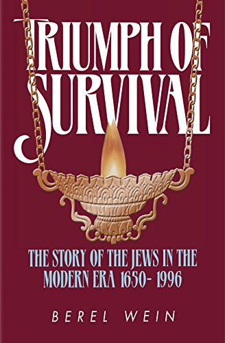 Triumph of Survival Compact Size: The Story: Rabbi Berel Wein