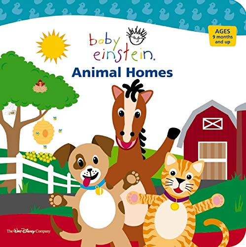 9781423100218: Animal Homes (Baby Einstein)