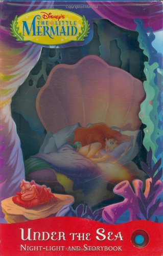 9781423100577: Under the Sea: Nightlight and Storybook (Disney's the Little Mermaid)