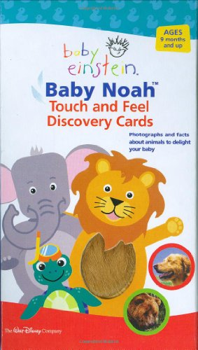9781423100607: Baby Einstein: Baby Noah Touch and Feel Discovery Cards