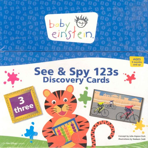 9781423100713: Baby Einstein: See and Spy 123s Discovery Cards
