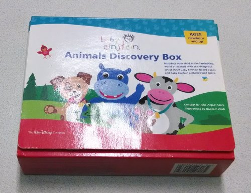 9781423101352: Baby Einstein: Animal Discovery Box