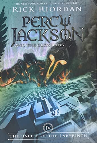 9781423101468: Percy Jackson and the Olympians, Book Four The Battle of the Labyrinth