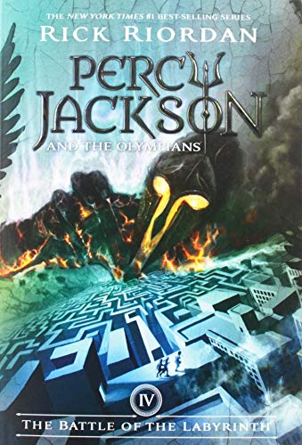 Percy Jackson and the Olympians, Book Four The Battle of the Labyrinth (Percy Jackson & the Olymp...