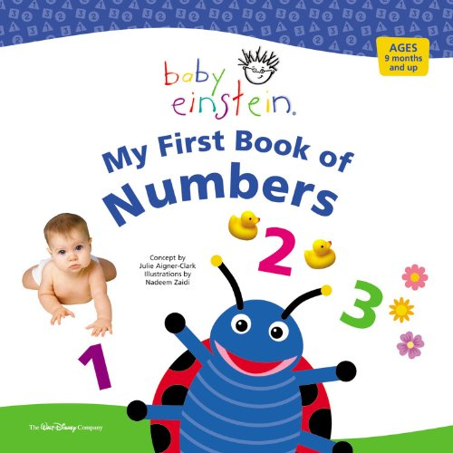 9781423102014: Baby Einstein My First Book of Numbers