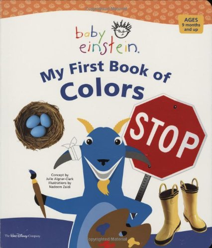 BABY EINSTEIN MY FIRST BOOK OF COLOR