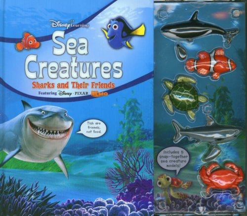 9781423102243: Sea Creatures: Sharks and Their Friends (Disney Learning)