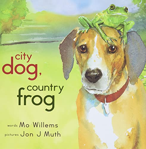 City Dog, Country Frog DOUBLE SIGNED: Willems, Mo