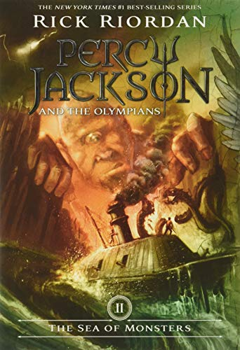 9781423103349: Percy Jackson and the Olympians, Book Two The Sea of Monsters
