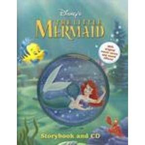 9781423104339: Disney's the Little Mermaid Storybook and CD