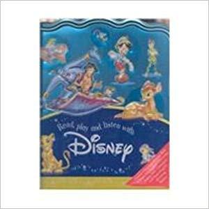 Disney Read, Play & Listen in Tin - Book, Stickers, Cd+