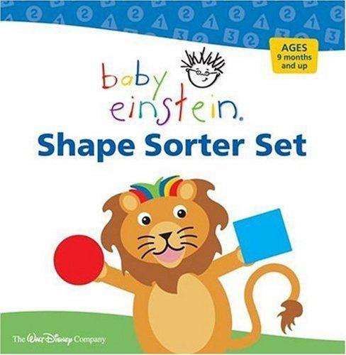 9781423105435: Baby Einstein: Shape Sorter Set