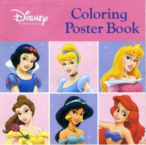 9781423105510: Disney Princess Coloring Poster Book