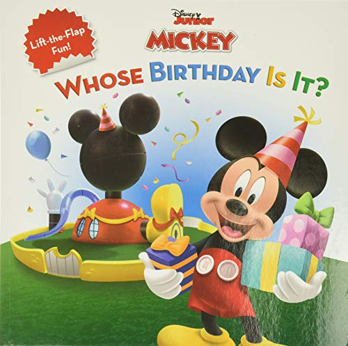 9781423106524: Mickey Mouse Clubhouse Whose Birthday Is It? (Disney's Mickey Mouse Club)