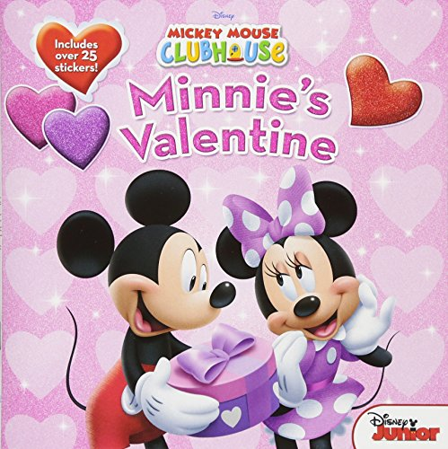 9781423107460: Mickey Mouse Clubhouse Minnie's Valentine [With Stickers]