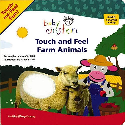 9781423109815: Baby Einstein Touch and Feel Farm Animals