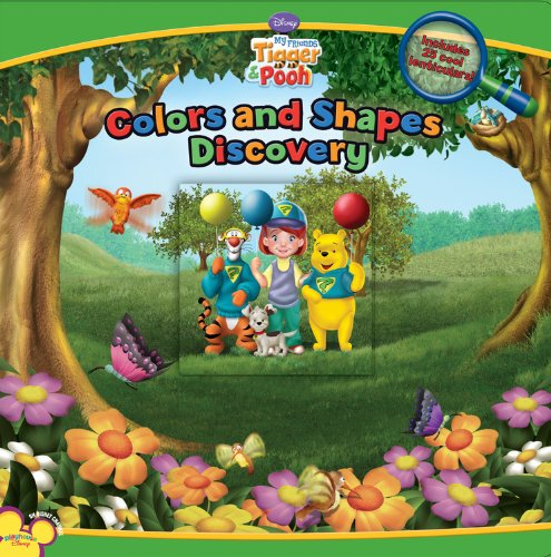 9781423109860: My Friends Tigger and Pooh: Colors and Shapes Discover