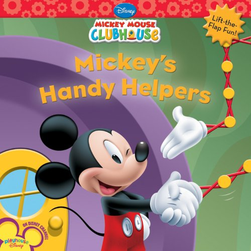 9781423110170: Mickey's Handy Helpers (Mickey Mouse Clubhouse)
