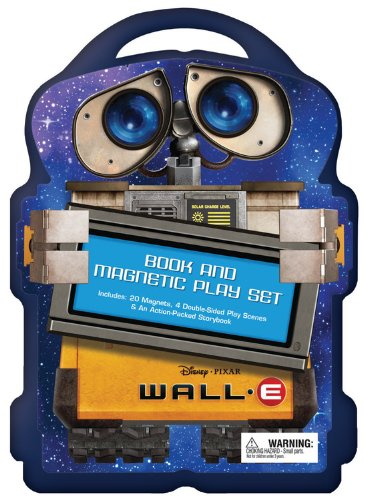 9781423110538: WALL-E A Book and Magnetic Play Set