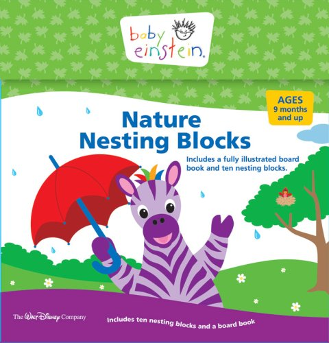 9781423114529: Nature Nesting Blocks (Disney Baby Einstein)