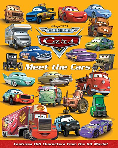 9781423114550: Meet the Cars (World of Cars)