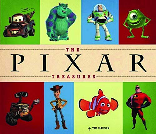 9781423116530: The Pixar Treasures (Disney Keepsake Book)