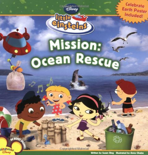 9781423116851: Mission: Ocean Rescue (Disney Early Readers)