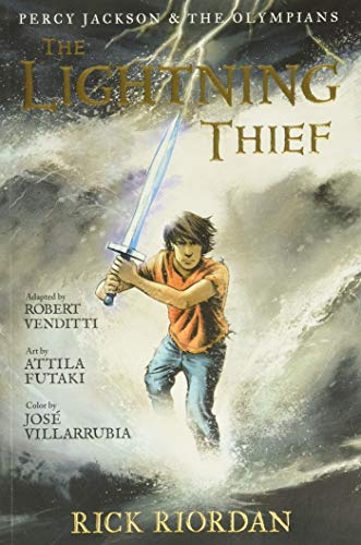 9781423117100: The Lightning Thief: The Graphic Novel (Percy Jackson & the Olympians, Book 1)
