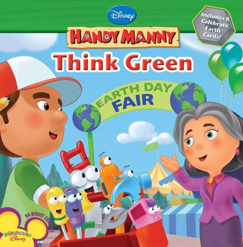 9781423117186: Think Green! (Disney Handy Manny)